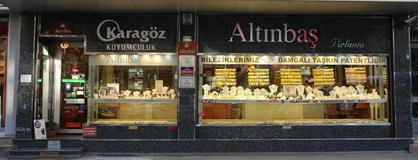 Kınalı Caddesi is one of ALTINBAŞ HAZNEDAR.