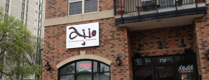 Aji Japanese Restaurant is one of Locais curtidos por Mackenzie.