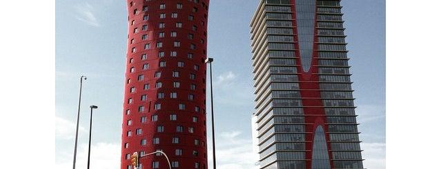 Hotel Porta Fira is one of 建築マップ ヨーロッパ.