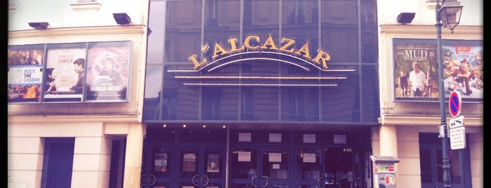 Cinéma L'Alcazar is one of Marc-Edouard 님이 좋아한 장소.