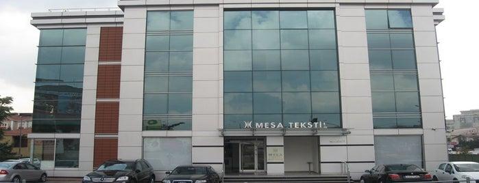 MESA TEKSTİL is one of Kuyumcu Mustafa Karagöz.
