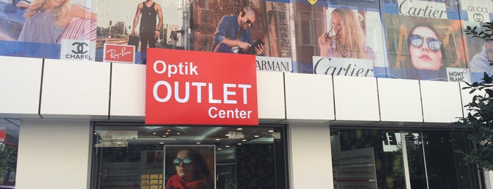OPTİK OUTLET CENTER is one of Karagöz Kuyumculuk.