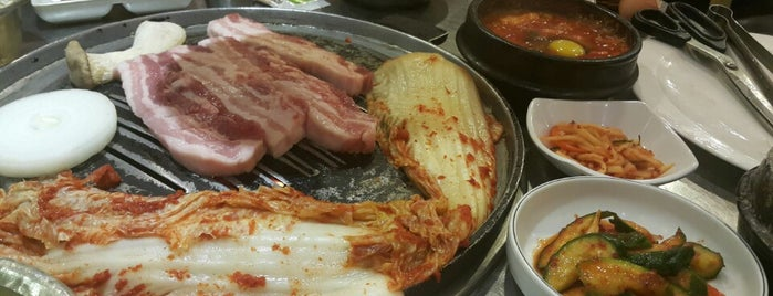 정원순두부 is one of Seoul.