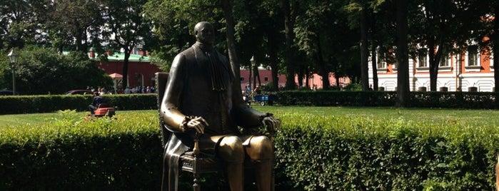 Памятник Петру Первому is one of Питерские каникулы 2014.