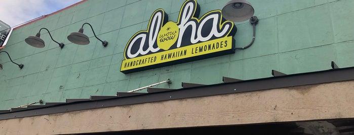 Wow Wow Hawaiian Lemonade is one of Nice gems outside.