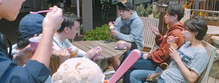Baskin-Robbins is one of สถานที่ที่ Jase ถูกใจ.