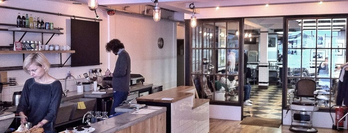 Sharps Coffee Bar is one of London Coffee.