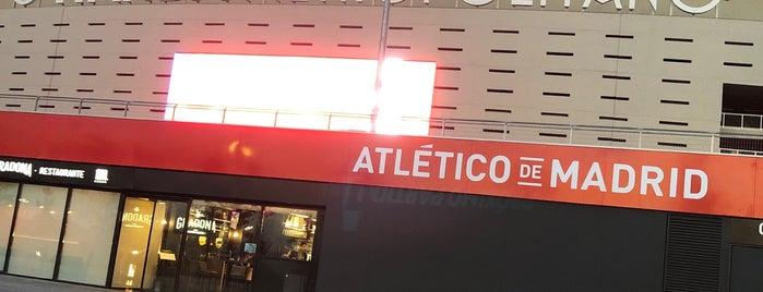 Estadio Wanda Metropolitano is one of Rafael : понравившиеся места.