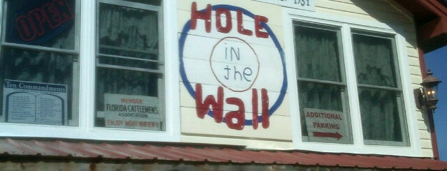 Hole In The Wall is one of Lieux qui ont plu à Chris.