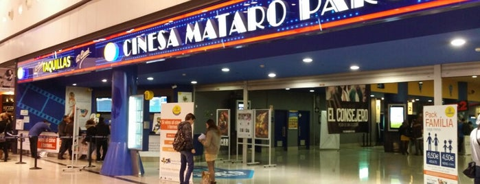 Cinesa Mataró Parc is one of Locais curtidos por Carlos.