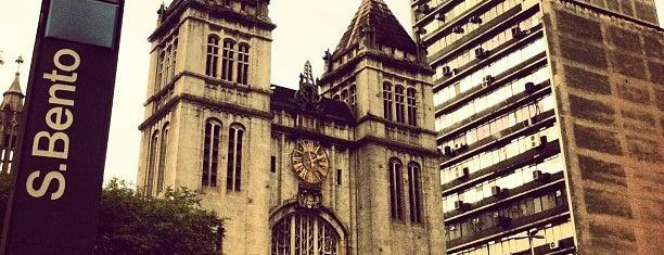 Estação São Bento (Metrô) is one of São Paulo 2012.