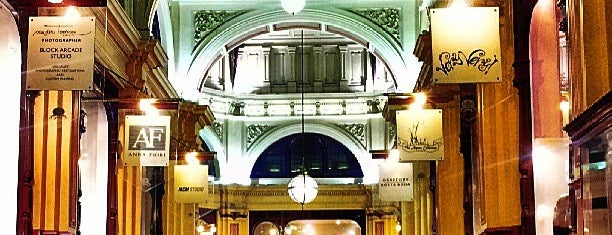 The Block Arcade is one of Tempat yang Disukai nilong-33.