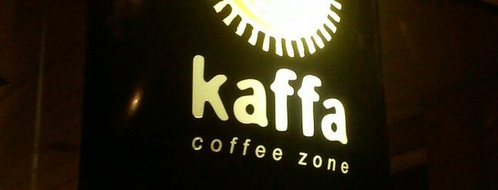 Kaffa Coffee Zone is one of Lieux sauvegardés par Fabio.