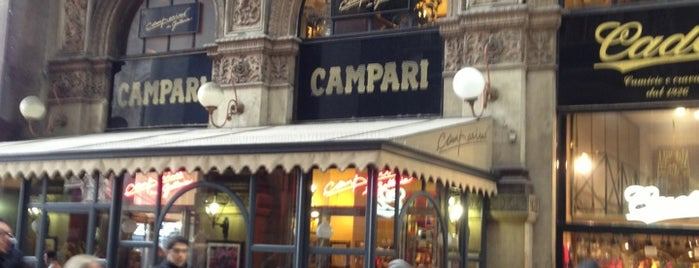 Camparino is one of ZeroGuide • Milano.