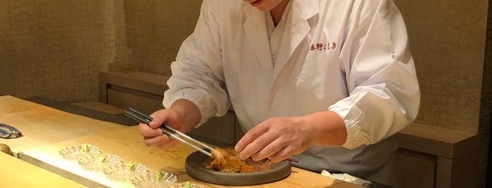 Sushi Shokunin Hatano Yoshiki is one of Tokyo Sushi.