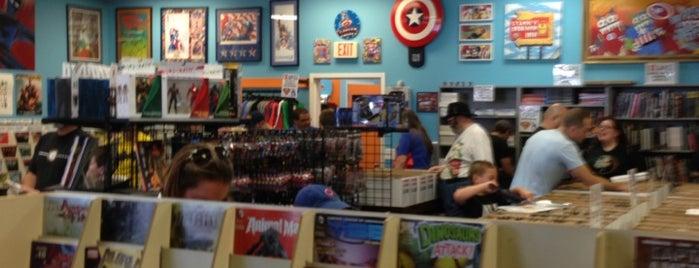 Carol & John's Comic Book Shop is one of Sashaさんの保存済みスポット.