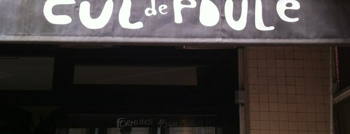 Le Cul de Poule is one of Must-Visit ... Paris.