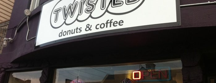 Twisted Donuts and Coffee is one of The San Franciscans: Cafés.