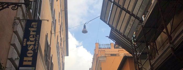 Hosteria del Mercato 1870 is one of Rome.