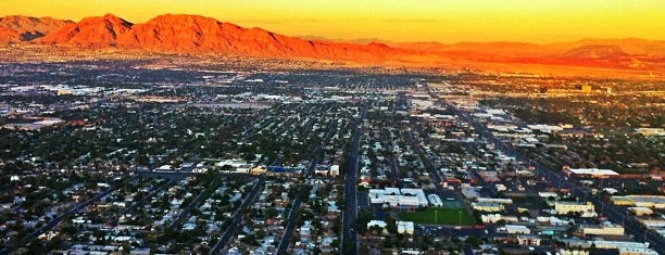 Stratosphere Tower Observation Deck is one of Great Vegas Views.