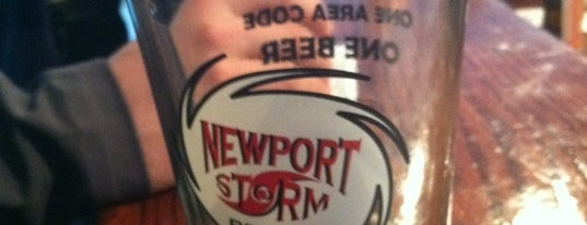 Newport Storm Brewery is one of Local MicroBreweries.