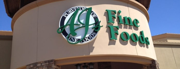 AJ's Fine Foods is one of Orte, die Jason gefallen.