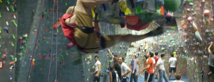Brooklyn Boulders is one of #BKLOVESuberX.