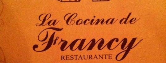 La Cocina de Francy is one of 101 comidas en Caracas.