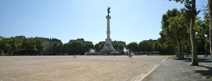 Esplanade des Quinconces is one of Bienvenue en France !.