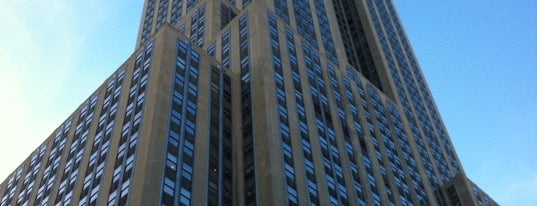 Empire State Building is one of (architecture) in NYC.