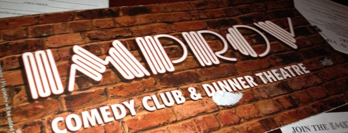 Improv Comedy Club is one of Locais salvos de Saiygan.