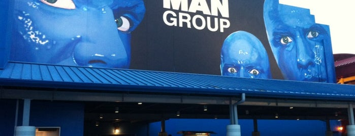 Blue Man Group (Sharp Aquos Theater) is one of Orlando.
