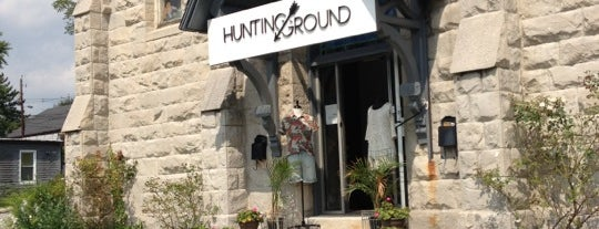 Hunting Ground is one of The Great Baltimore Check-In.