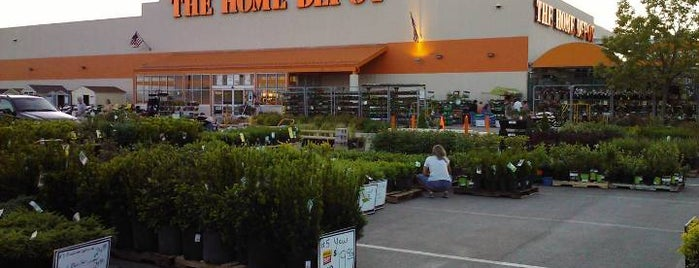 The Home Depot is one of Hot Spots.