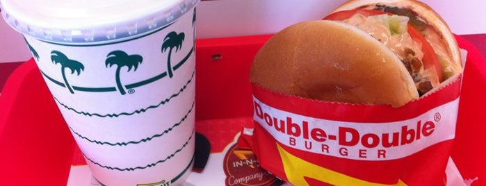 In-N-Out Burger is one of the best of #yum.