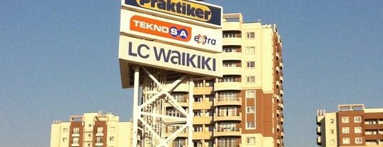 CarrefourSA Karşıyaka AVM is one of List of Shopping Malls in İzmir.