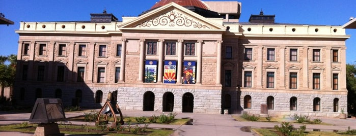 Arizona State Capitol is one of Must Visit - Phoenix / Valley.
