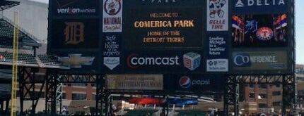 Comerica Park is one of Detroit #4sqCities.