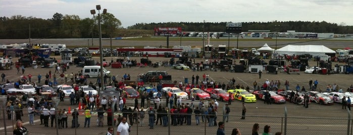 Mobile International Speedway is one of Bucket List for Gearheads.