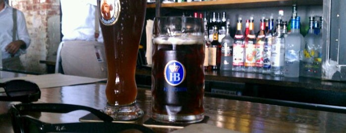 Pilsener Haus & Biergarten is one of Hoboken.