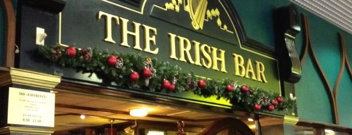 The Irish Bar is one of moscow pubs.