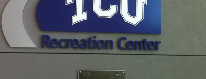 TCU University Recreation Center is one of Explore TCU.