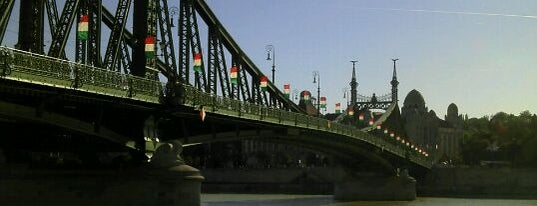 Szabadság híd is one of Must Do's in Budapest.