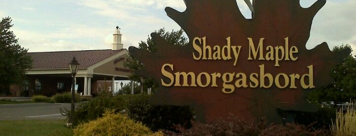 Shady Maple Smorgasbord is one of Famous places.