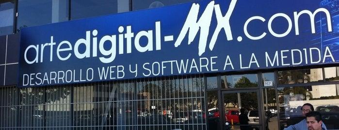 Arte Digital is one of Lieux sauvegardés par Desynths.