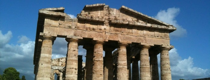 Paestum is one of Neapol.