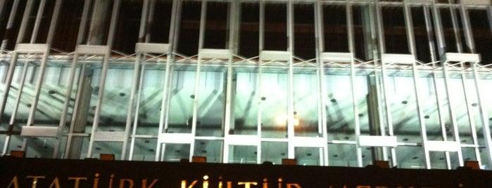 Atatürk Kültür Merkezi Önü is one of Favorilerim.