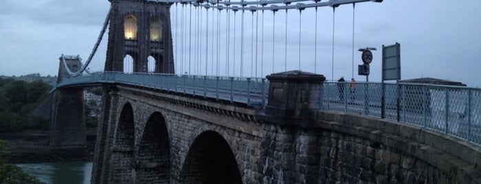 Menai Bridge is one of Lugares favoritos de Carl.