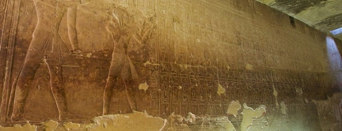 Temple Of Seti I is one of Egypt..