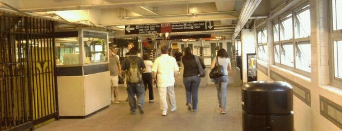 MTA Subway - Queensboro Plaza (7/N/W) is one of IRT Flushing Line (7) <7>.